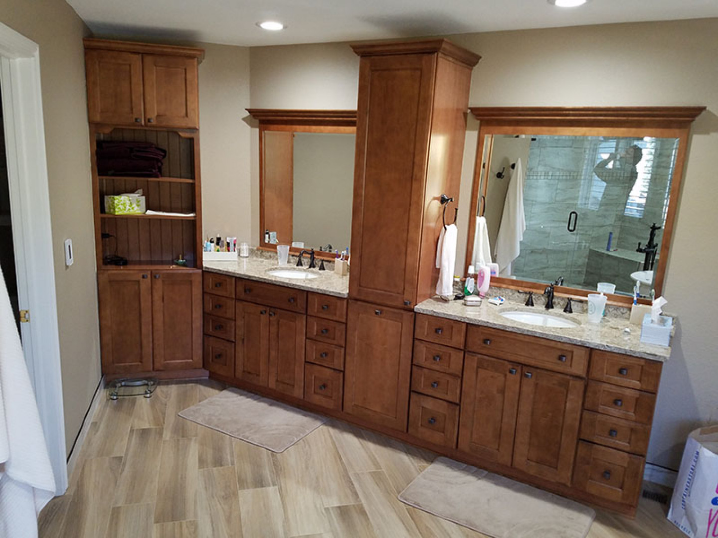 Think of us when you need bathroom remodeling services